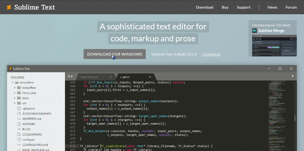 Sublime text download