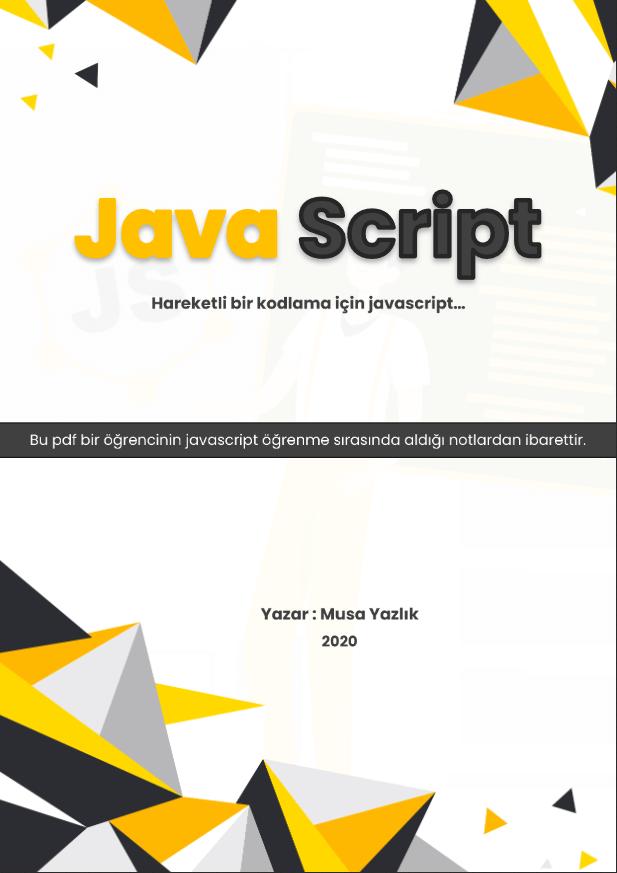Ücretsiz javascript pdf kitap